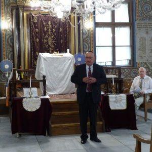 Заместник-кметът Пламен Панов поздрави еврейската общност в Пловдив за празника Рош Ашана