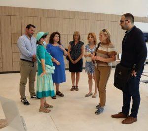 Заместник-кметът по култура Пламен Панов посрещна днес в Пловдив колегата си от Бургас