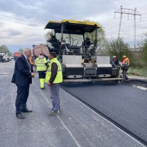 Здравко Димитров инспектира ремонта Околовръстното шосе