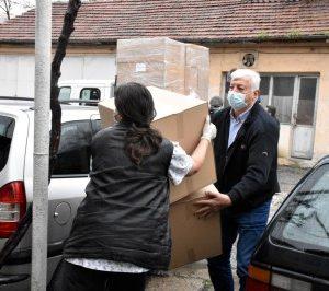 """МБАЛ """"Свети Мина"""" получи първия транш предпазни средства за лечение на болни от коронавирус"""