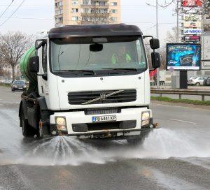 График за машинно метене и миене на пловдивските улици от 30 август до 4 септември