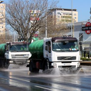 График за машинното метене и миене на пловдивските улици от 4 до 9 октомври