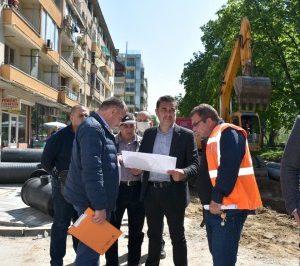 """Месец предсрочно завършват ремонтите по Водния проект в """"Захарна фабрика"""" и """"Кършияка"""""""