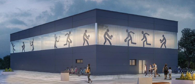 """Готов е проектът за нов училищен физкултурен салон в """"Тракия"""""""