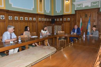 среща с OSCE